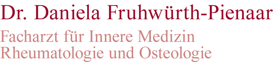 Rheumaarzt Dr. Daniela Fruhwürth-Pienaar